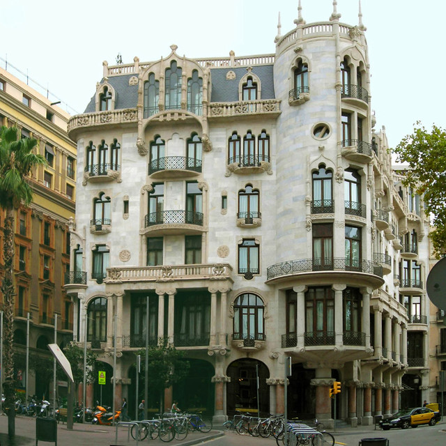 casa fuster a barcelona aquest edifici actualment. Black Bedroom Furniture Sets. Home Design Ideas