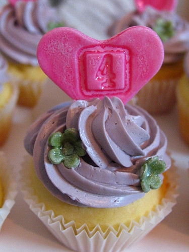 4th birthday cupcake | by kylie lambert (Le Cupcake)