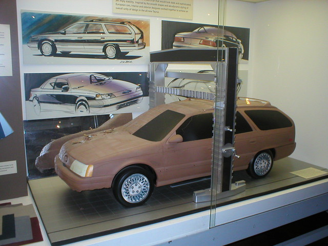 1986 Ford Taurus Design Concepts