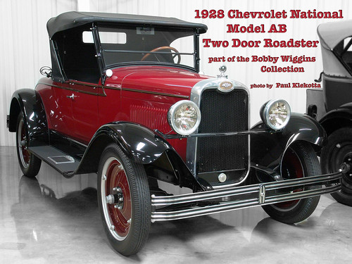 1928 chevrolet national model ab two door roadster flickr for 1928 chevrolet 2 door sedan