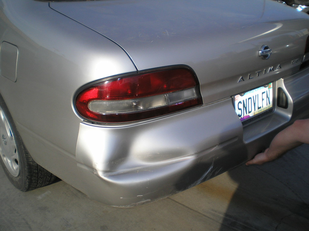 I Dented A Car In Parking Lot Uninsured