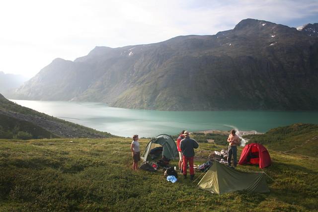 Wild camping in jotunheimen, norway   wild camping in ...