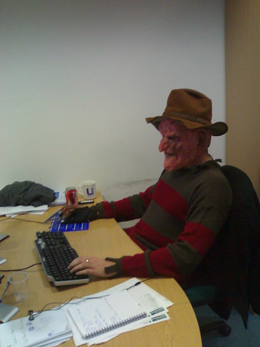 Freddy Krueger, coding | by OwenBlacker
