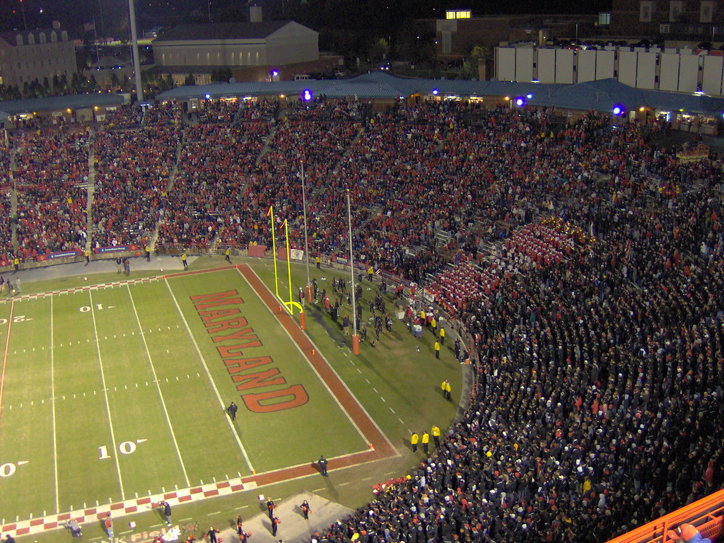 The Student Section at Byrd Stadium, College Park, MD | Flickr
