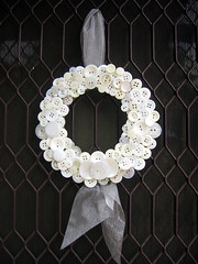 Button Christmas wreath | by The Shopping Sherpa