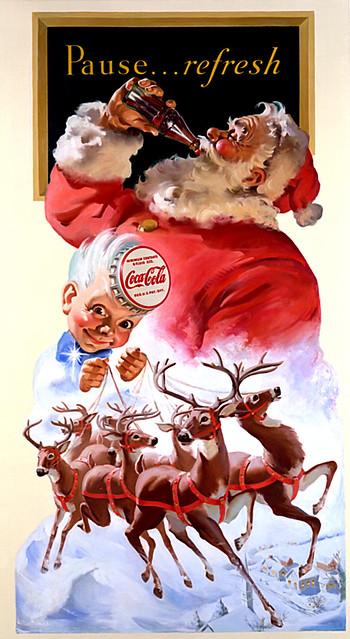 Coca-Cola Santa & Spriteboy
