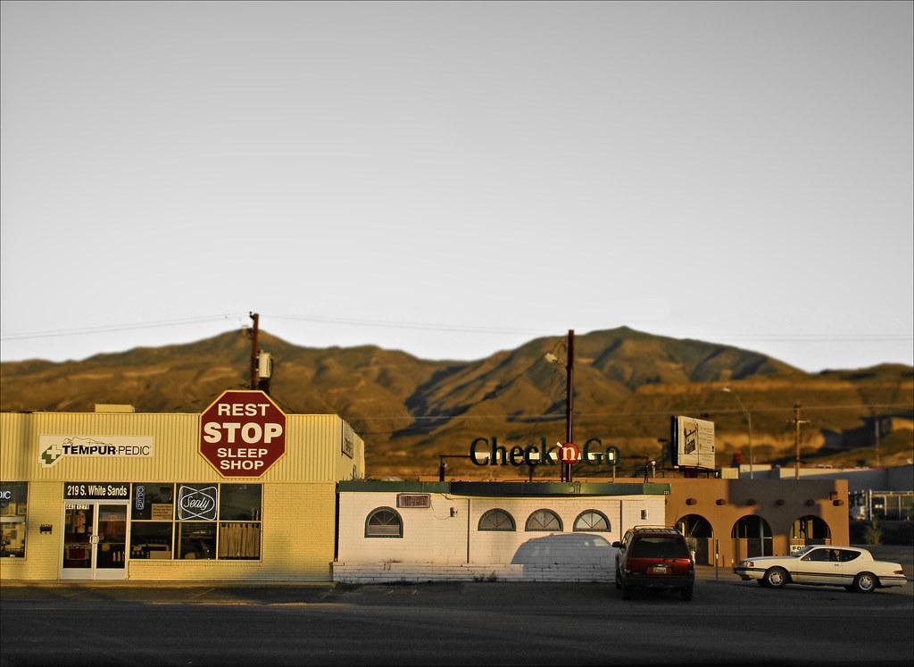 Alamogordo Rest Stop Sleep Shop | Alamogordo Rest Stop Sleep