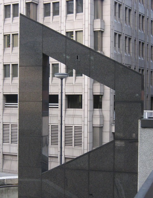Through the isosceles trapezoid window? | Walkway above ...