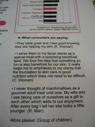 what consumers are saying about collagen marshmallows | by xtinehlee