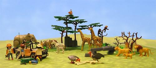 playmobil safari set 4081