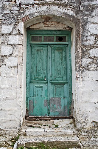 Door Vi Door At Asomatos Village At Lesvos Island