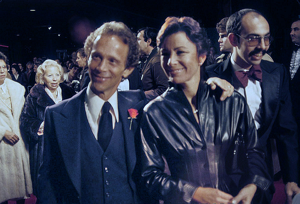 Joel Grey Joel Grey And Wife Jo Wilder At The Premiere Of Flickr