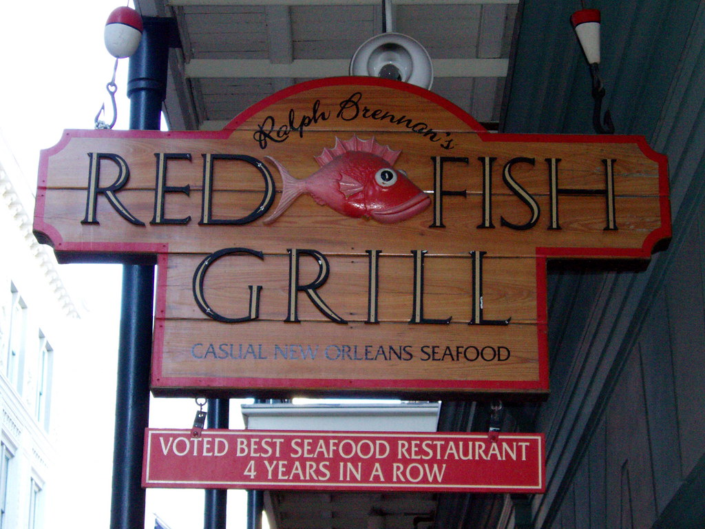 6072 red fish grill 115 bourbon st new orleans la for Red fish grill new orleans la
