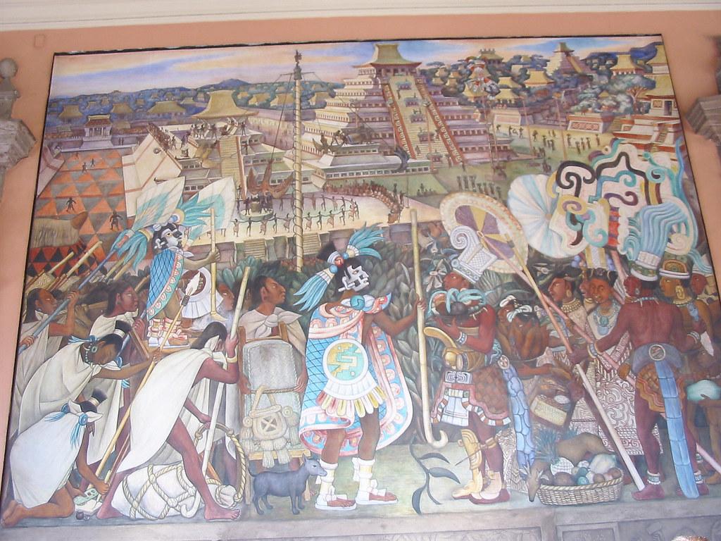 Diego rivera diego rivera 39 s famous murals in mexico city for Diego rivera s most famous mural
