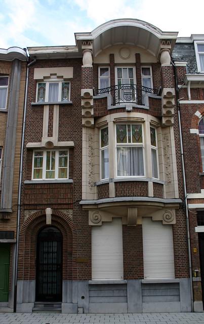Art deco woning sint niklaas de monseigneur stillemansstr flickr photo sharing - Deco huizen ...