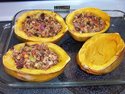 Thanksgiving Squash Stuffing | by Ozma of Oz and the Wogglebug