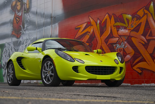 Lotus Elise & Graffiti Artwork | by The Pug Father