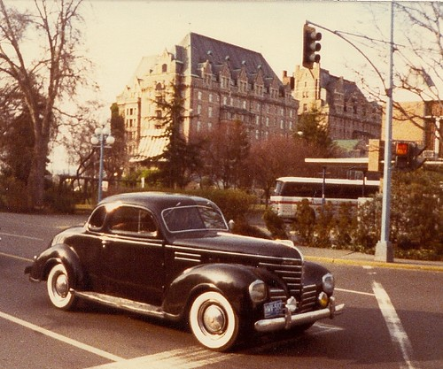 1939 Plymouth At The Empress Hotel - Victoria, B.C. 1980 | by Mikey G Ottawa