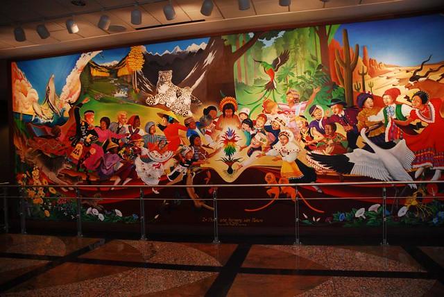 Denver International Colorado Airport Murals