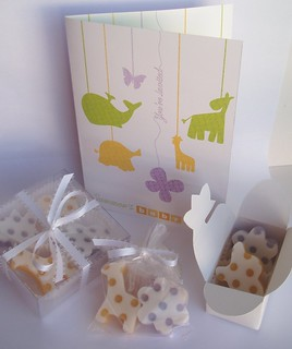 Summer's shower soap favors | by soapylovedeb