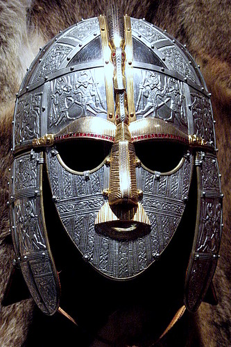 A Replica of the Sutton Hoo Helmet