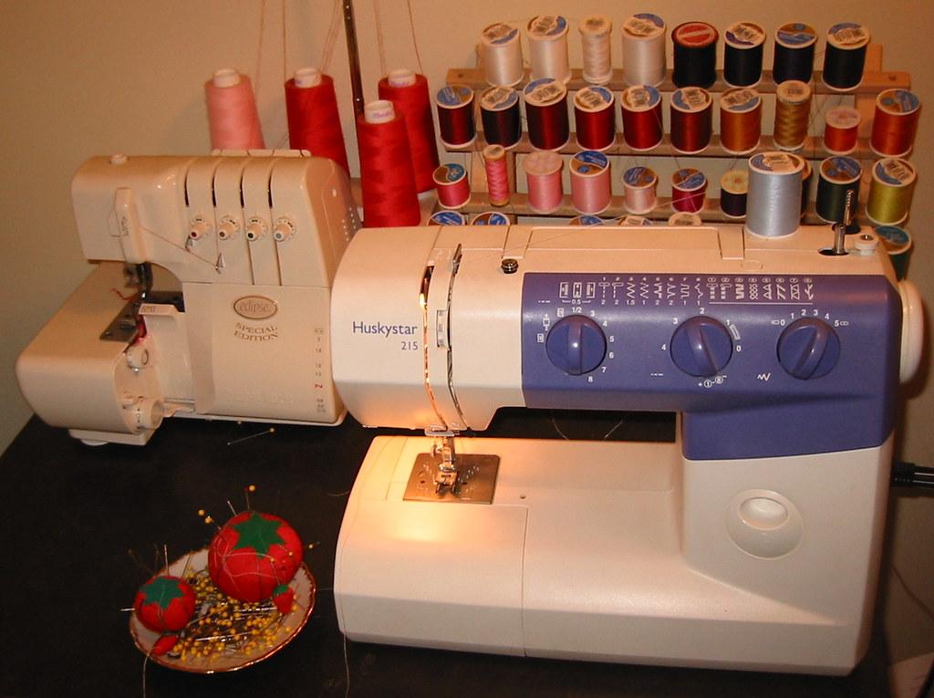 My Sewing Machinea Huskystar 40 I Have A Threeyearold Flickr Unique Huskystar 215 Sewing Machine Reviews