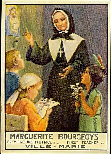 Résultats de recherche d'images pour «Sainte Marguerite Bourgeoys»
