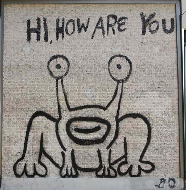 Daniel johnston frog austin tx daniel johnston mural for Daniel johnston mural