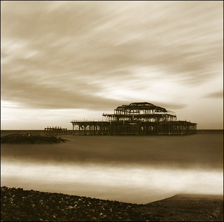 Brighton West Pier | by maz hewitt
