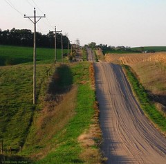 Gravel Road, South of Pierce, Nebraska | by Full Metal Photographer