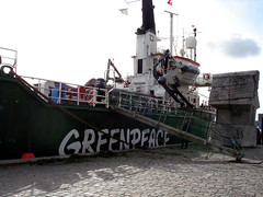 A Greenpeace Ship | by su-lin