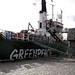 A Greenpeace Ship