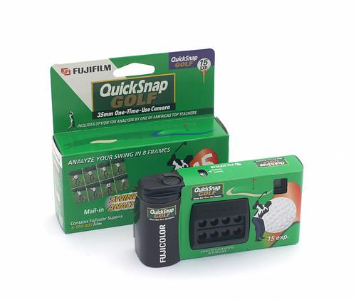 Fuji Smart QuickSnap Golf Disposable 35mm Camera ...