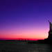Lady Liberty at Sunset, New York, NY
