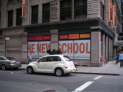 The Parsons New School + Our rental car | by Tennis-Bargains.com