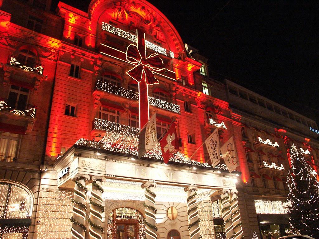 Hotel Lausanne Palace Restaurant