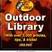 "Bass Pro Shops ""Library"" MySpace Ad"