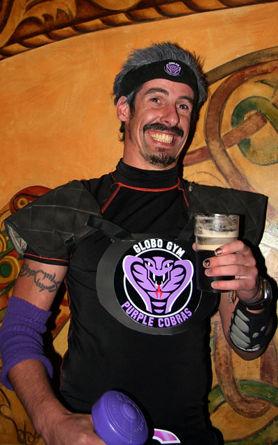 White Goodman from Dodgeball | Best costume I saw that night… | Flickr