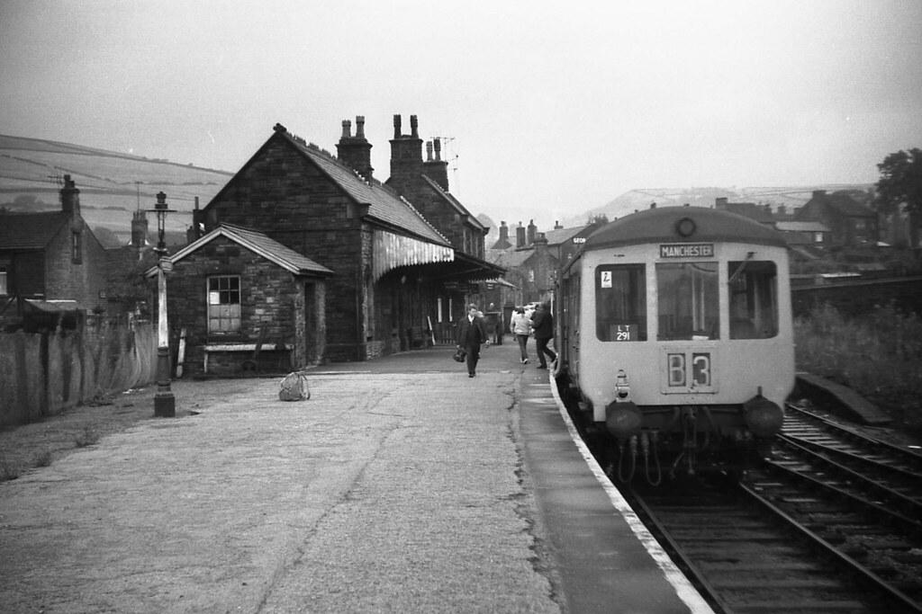 Diesel Near Me >> Hayfield Station Derbyshire August 1969 | I read that the ...