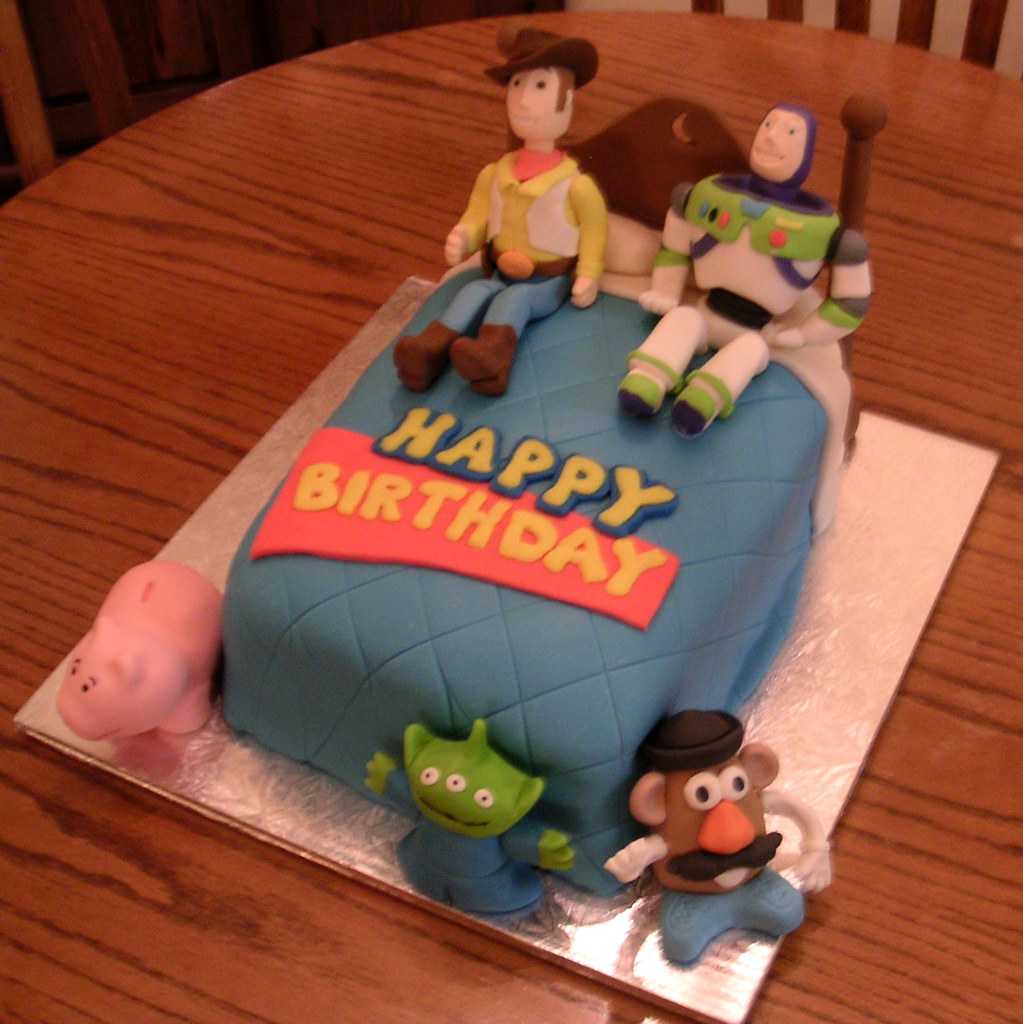Toy Story Cake Cake I Made For A Little Boy S 4th