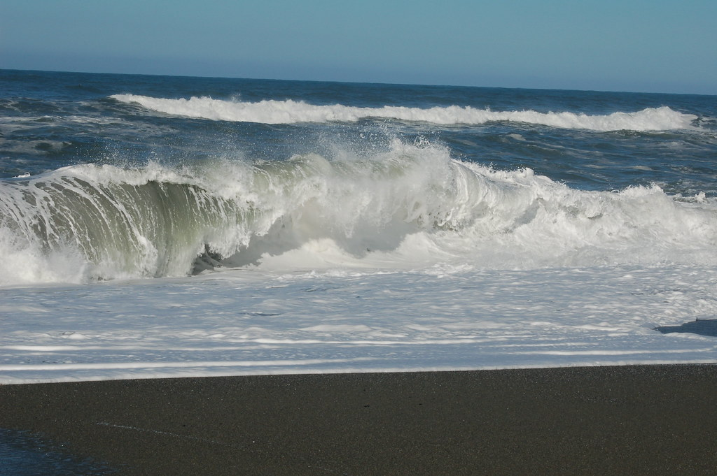 Pacific Ocean waves, Humboldt County, Northern California ... Pacific Ocean Waves