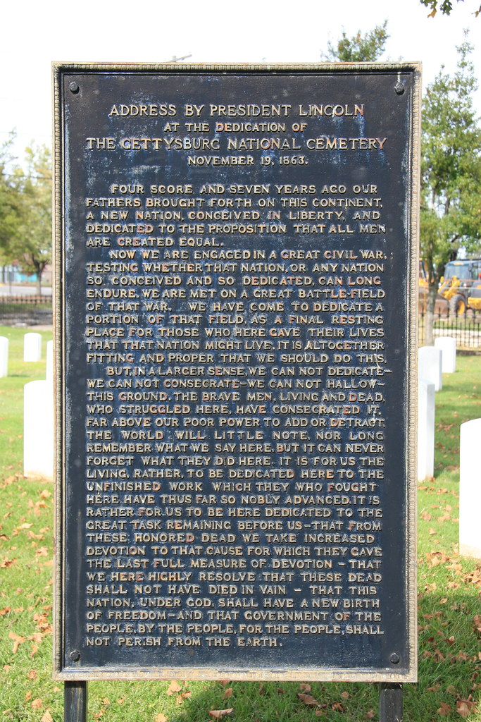the message of the gettysburg address The gettysburg address as foreign policy  and began to see the central message of the gettysburg address as one of equality  american studies journal.