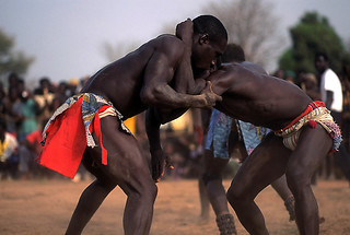 senegalese wrestling / 1 | by christing-O-