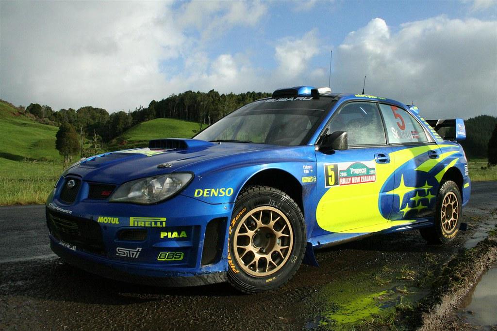Wrc 06 Subaru Wrx Sti Rally Car Of Petter Solberg Flickr