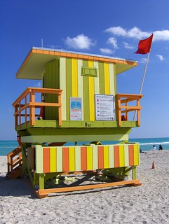 Miami Beach Lifeguard Hut | by Joe Shlabotnik