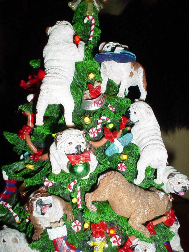 3 White Christmas Tree