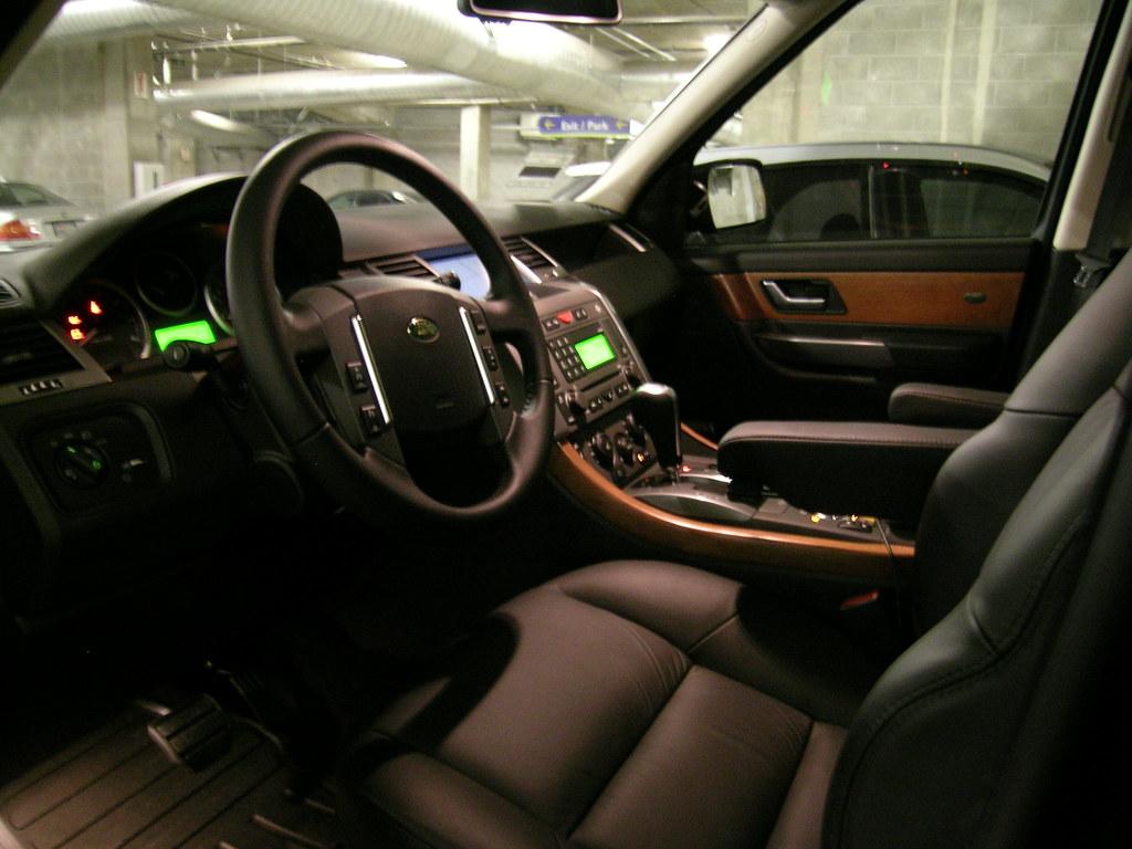 2007 Range Rover Sport Interior Shot Of Hse Flickr By Mrspeedmaster
