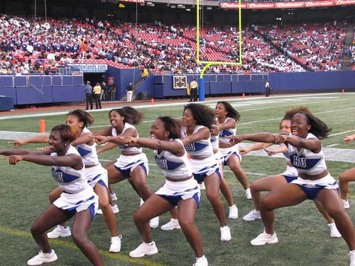 Hand jobs by cheerleaders