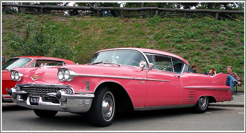 Very pink Cadillac | by Kleiobird