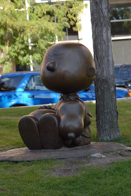 Charlie Brown and Snoopy Statue, St. Paul   John Watne ...